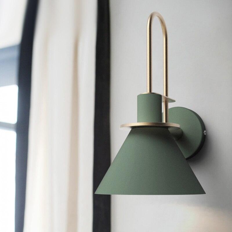 الحديثة الشمال معكرون سلسلة جدار مصابيح الإبداعية المعيشة غرفة نوم دراسة الممر السرير الدرج abc paragraph110-260V E27