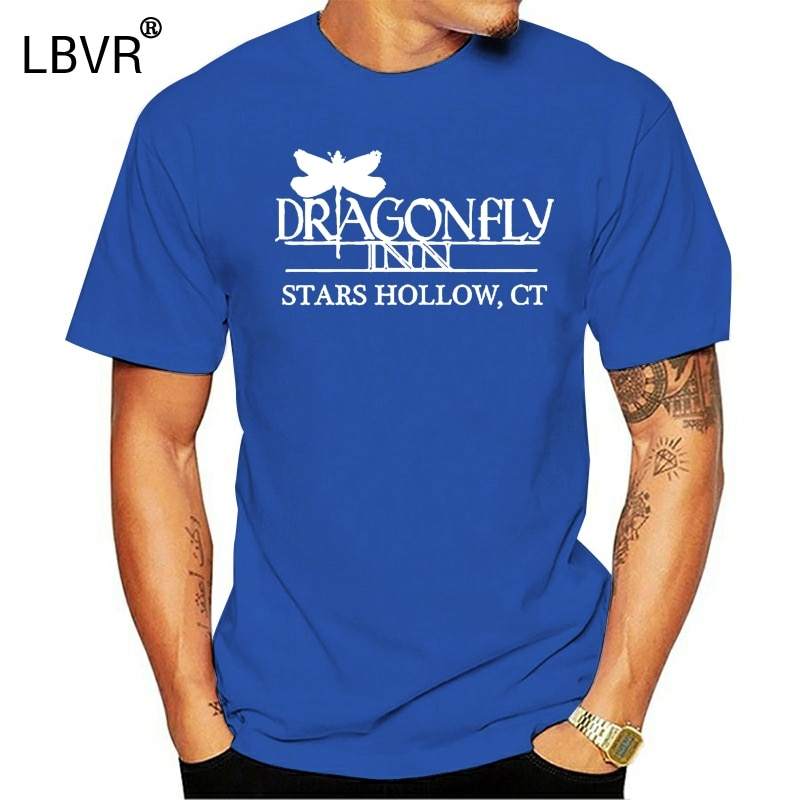 Men T shirt UNISEX t shirt Dragonfly Inn Gilmore Girls T Shirt funny t-shirt novelty tshirt women