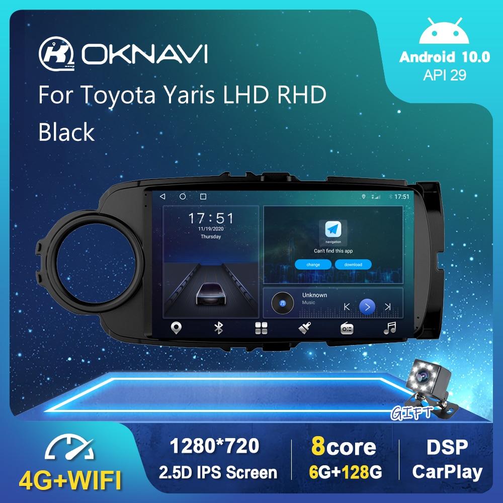 6G 128G WIFI Radio de coche para Toyota Yaris LHD RHD 2012-2017...