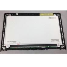 Para Lenovo IdeaPad Y700-15ISK panel LED pantalla Lcd + montaje de cristal frontal 15,6 FHD 1920*1080 pantalla no táctil grado de prueba A + +