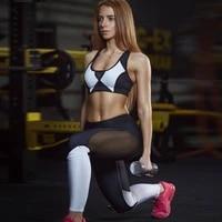 fitness high waist legging tummy control seamless energy gymwear workout running activewear pant hip lifting