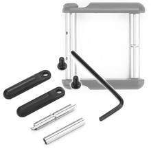 TOtrait Anti-Walk Non-Rotating Pinsfor AR15 Gen 2 .154 Non-Rotating Anti-Walk Pins with Black Side Plates Trigger Hammer Pins