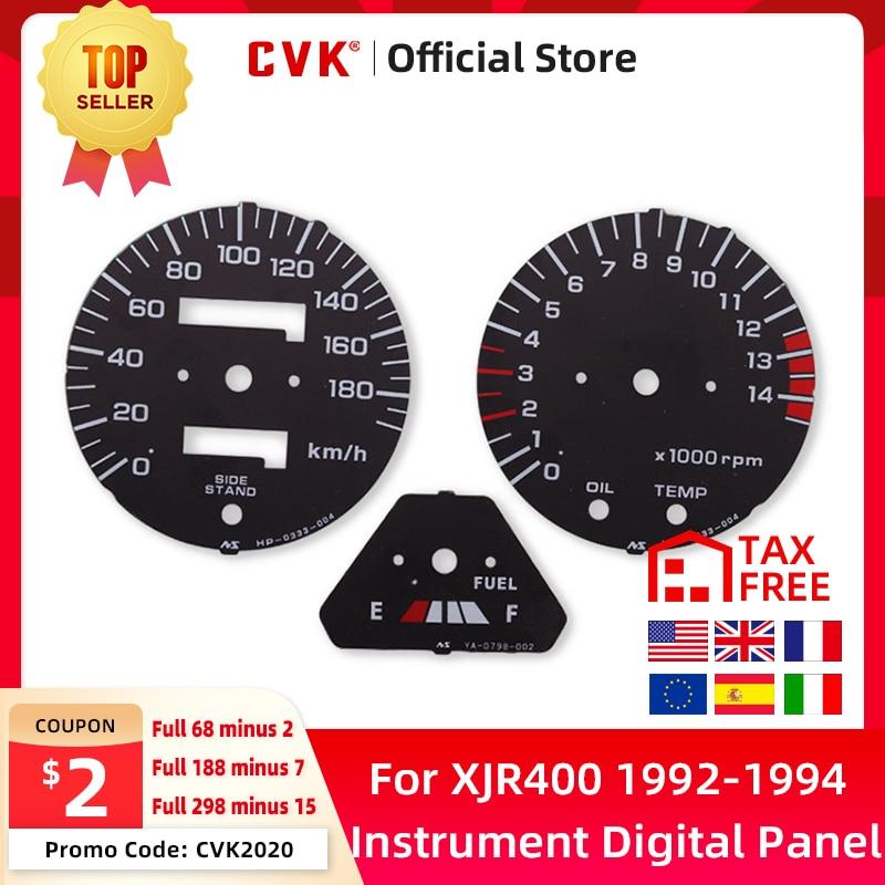 Cvk velocímetro face placa painel medidor digital dial para honda cb400 1992 1993 1994 cb 92-94 acessórios painel de instrumentos