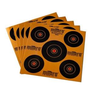 25pcs / set of 17X17cm single professional shooting target paper durable shooting paper archery target target practice