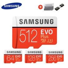 SAMSUNG Memory Card Micro SD Card 256GB 32G 64GB Microsd Micro SD 128GB 512G SDHC SDXC Grade EVO+ C10 UHS TF SD Cards