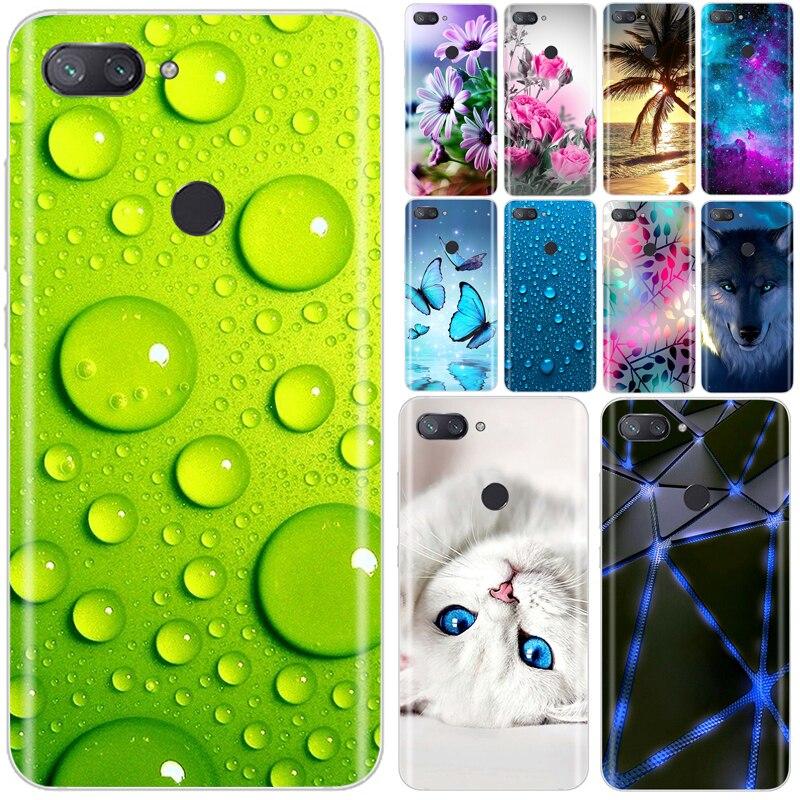 Silicone Case For Xiaomi Mi 8 Lite Case Soft TPU Phone Case For Xiaomi Mi 8 SE Lite TPU For Xiaomi M