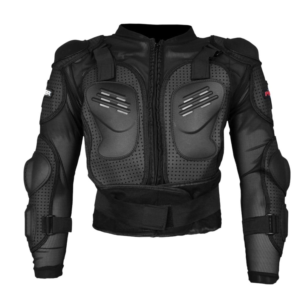 درع حماية لراكبي الدراجات النارية, ملابس موتوكروس ، حماية ، أسود
