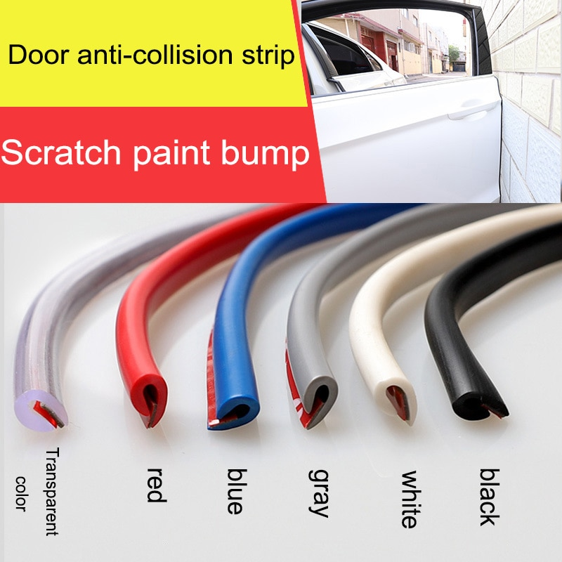 10 метров Автомобильная Звукоизоляционная резиновая уплотнительная полоса u-типа ветрозащитная уплотнительная полоса для автомобиля Стайлинг передней двери автомобиля уплотнительная полоса