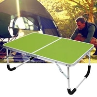 compact fashion aluminum alloy folding table aluminum alloy computer table strong for hiking