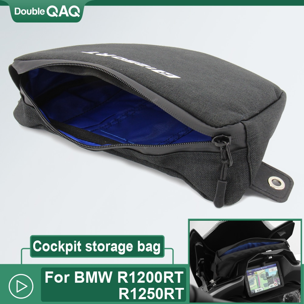 Bolsa de cabina para BMW R 1200RT R1250 RT R1200RT R1250RT, bolsa de almacenamiento para manillar de motocicleta, bolsa de viaje impermeable
