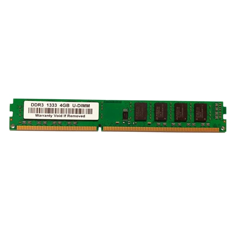 DDR3 4 GB ذاكرة عشوائية RAM 13331.5 V 1600 MHz 240-Pin ذاكرة عشوائيّة للحاسوب المكتبي DIMM للوحة سطح المكتب