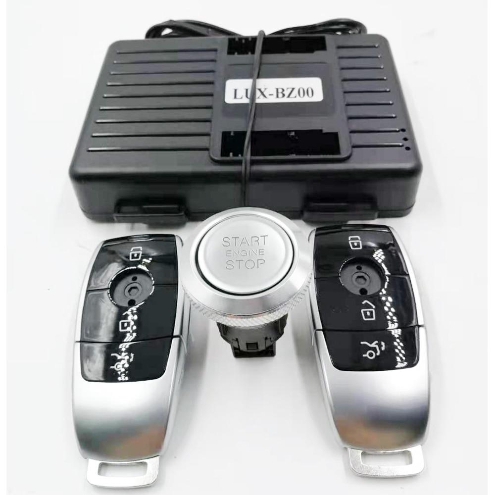 لمرسيدس بنز الفئة B W246 إضافة دفع السيارة لبدء إيقاف مشغل عن بُعد ونظام دخول بدون مفتاح منتجات جديدة مفتاح السيارة عن بعد