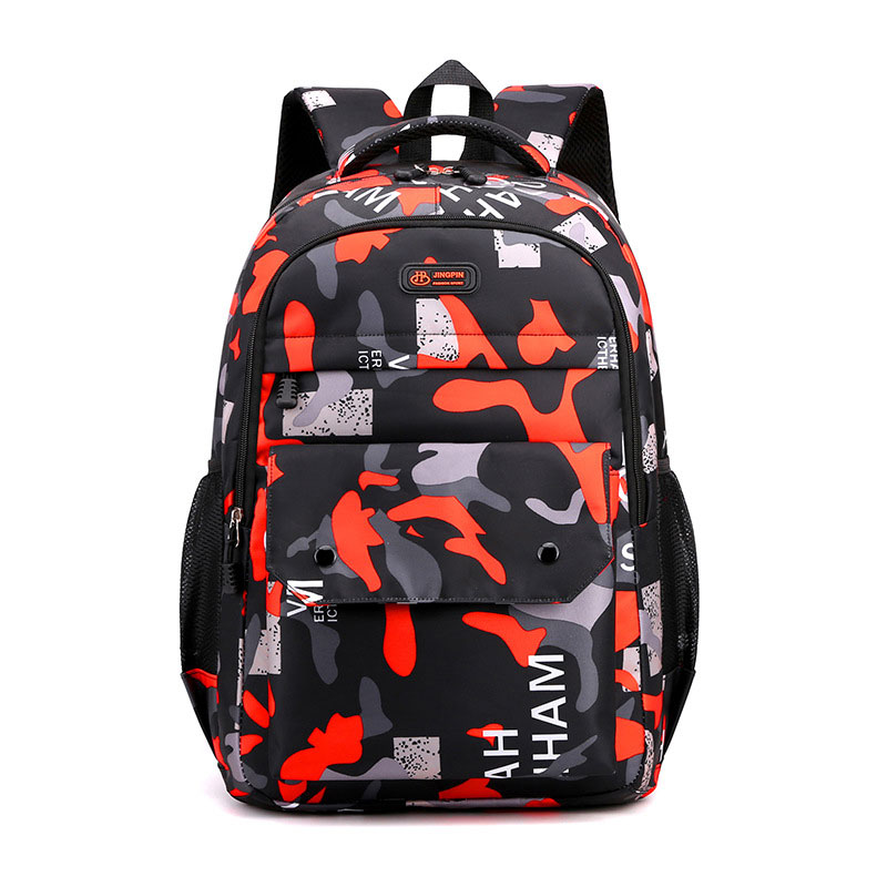 Фото - Business Leisure Bag Junior High  Backpack 2021 New Fashion Camouflage School Students Trend Shoulder Bag Back To School 2021 four piece set primary school students grade 3 6 junior high school students color contrast backpack hand bag fashion