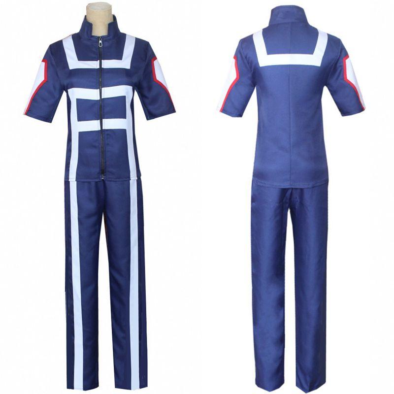 Erwachsene Meine Hero Akademie Kostüme Boku Keine Hero Wissenschaft Gym Anzug Todoroki Shouto Cosplay Kostüm Sport Anzug für Mann Frau
