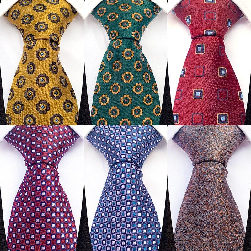 Linbaiway 8 см классические мужские полиэстелена, галстуки бабочки бизнес печати Галстуки Шея галстук-бабочка женские жаккардовый галстук Goom га...