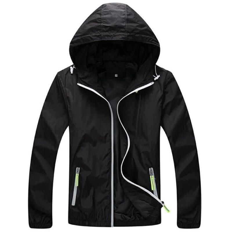 Plus size xs 3xl 4xl 5xl 6xl 7xl primavera outono bombardeiro blusão jaqueta masculina casual fino casaco com capuz fino zíper outwear jaqueta