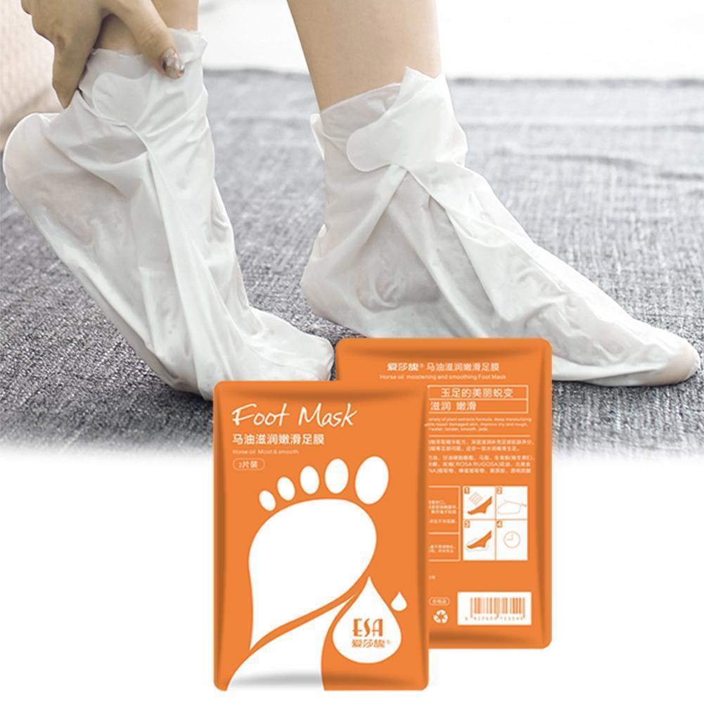 New Foot Mask Peeling Cuticle Callus Enhances Smooth Exfoliating Effective Tool Moisturizing Skin Re