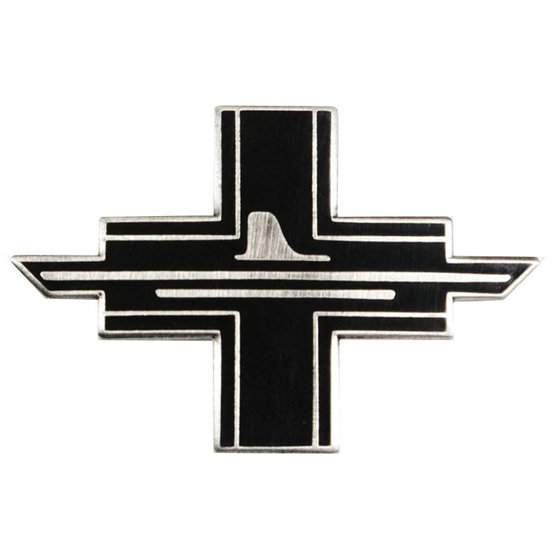 NEW German 10th Flotilla Black Cross PIN CAP BADGE WW2 Navy Kriegsmarine