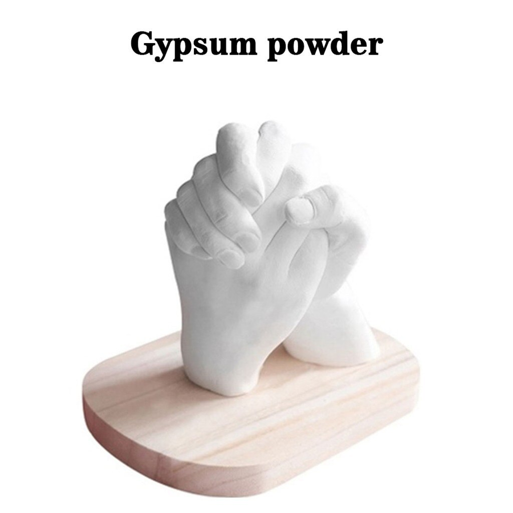 Cloning Powder Model Baby Mould Souvenir Gift White Hands Feet Couple Mother'S Day Decorate DIY Hand Mold Fashion Handprint