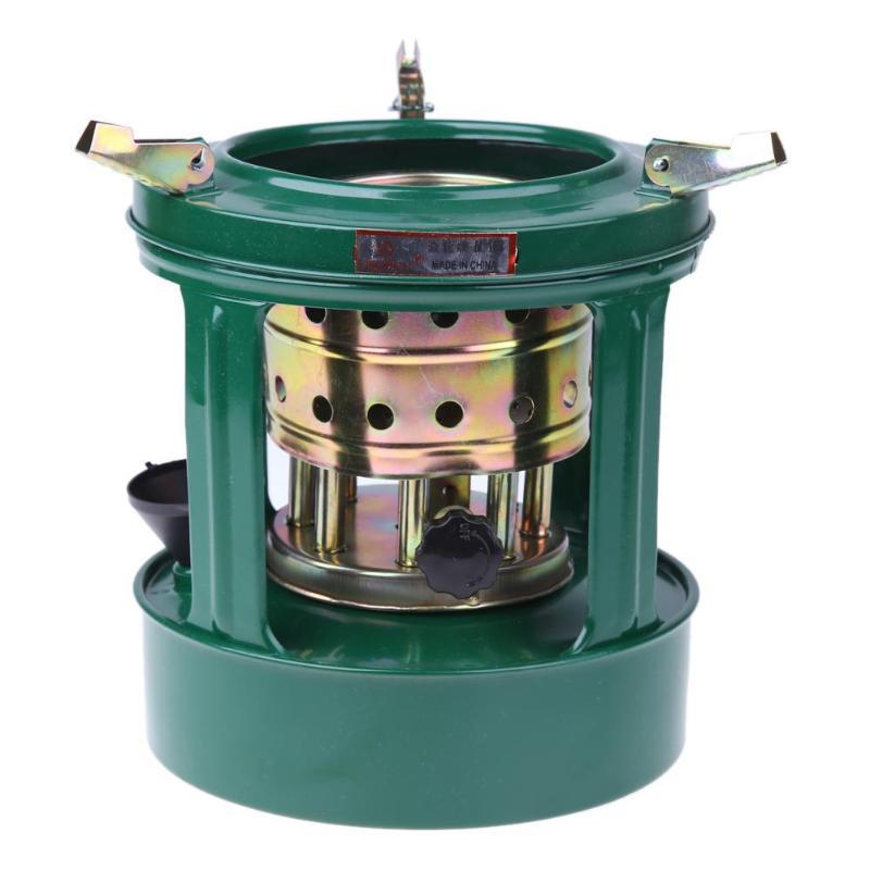 Estufa de queroseno portátil mechas Universal Mini manual extraíble al aire libre 8 mechas estufa de queroseno Camping aceite para cocina calentadores para Picnic