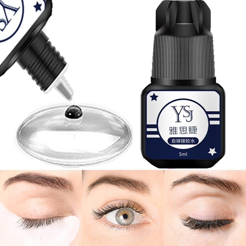 5ml False Eyelash GlueNo Smell No Irritant Fast Dry Waterproof Fake Extensions Glue Eyelashes Adhesive Lashes