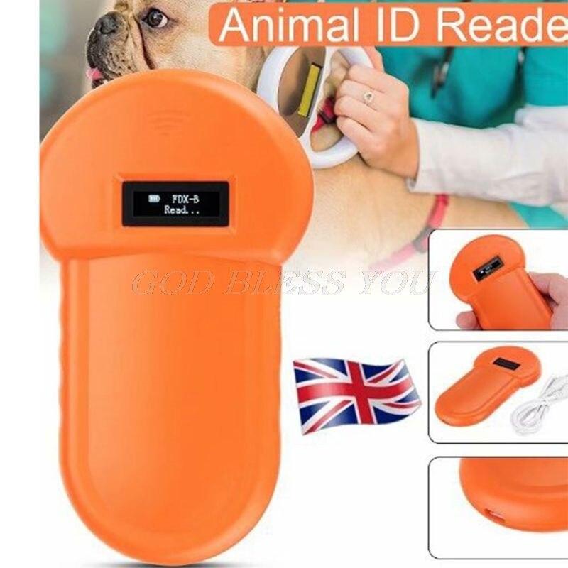 الحيوانات الأليفة معرف القارئ الحيوان رقاقة الماسح الضوئي الرقمي USB قابلة للشحن رقاقة يده تحديد التطبيق العام لكلب القط
