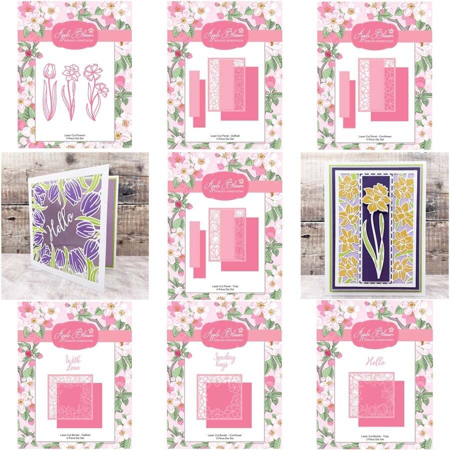 Рамки с цветами, металлические Вырубные штампы для рукоделия, скрапбукинга, рукоделия, изготовления открыток, фотоальбома, бумажных шаблон...