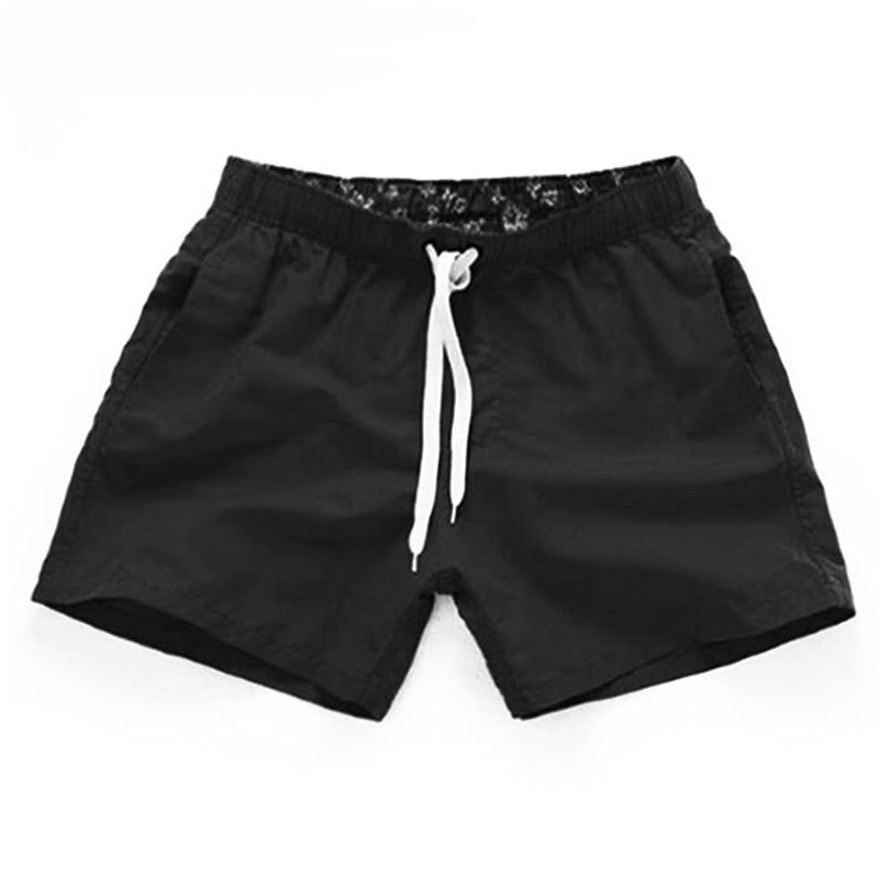 шорты мужские шорты Мужские летние одежда повседневные шорты, быстросохнущие шорты для фитнеса, мужские пляжные шорты, мужские и женские пляжные шорты с эластичной резинкой на талии, одноцветная одежда для спортзала