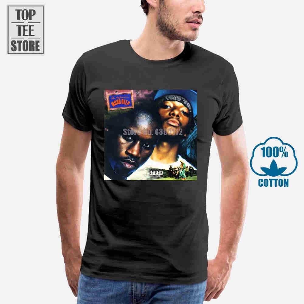 El infame Mobb Deep descansar en paz Hip Hop álbum de Rap T camisa