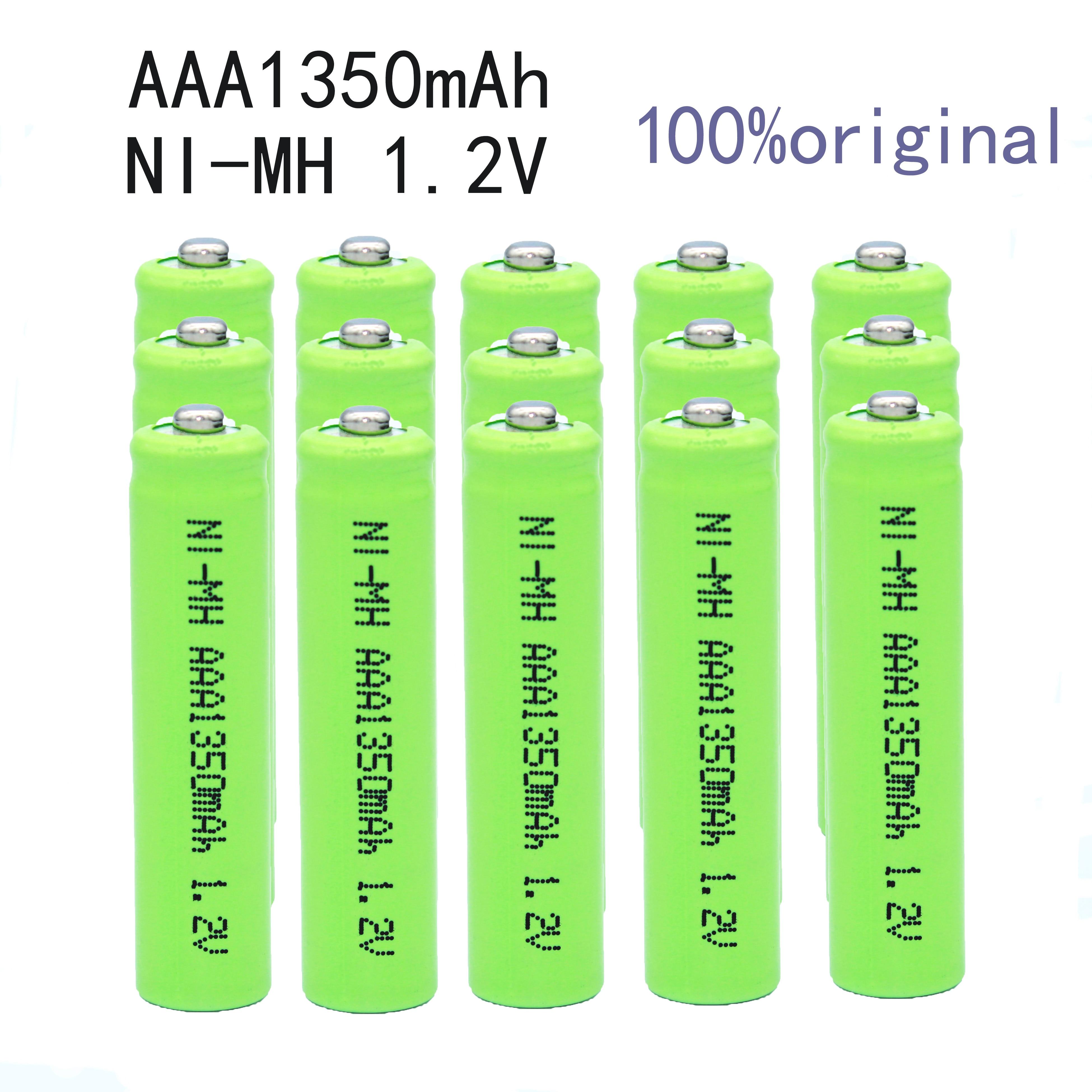 Batería alcalina de 1350mAh para motocicleta, recambio de batería para NI-MH, 100%,...