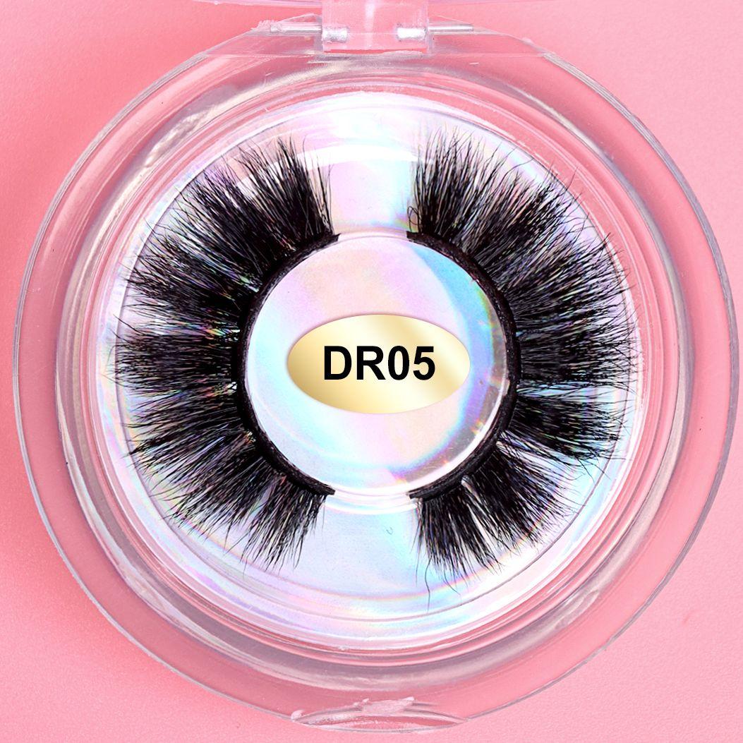 Annie&Panda Makeup Eyelashes 3D Mink Lashes Fluffy Soft Wispy Volume Natural Long Cross False Eye Reusable