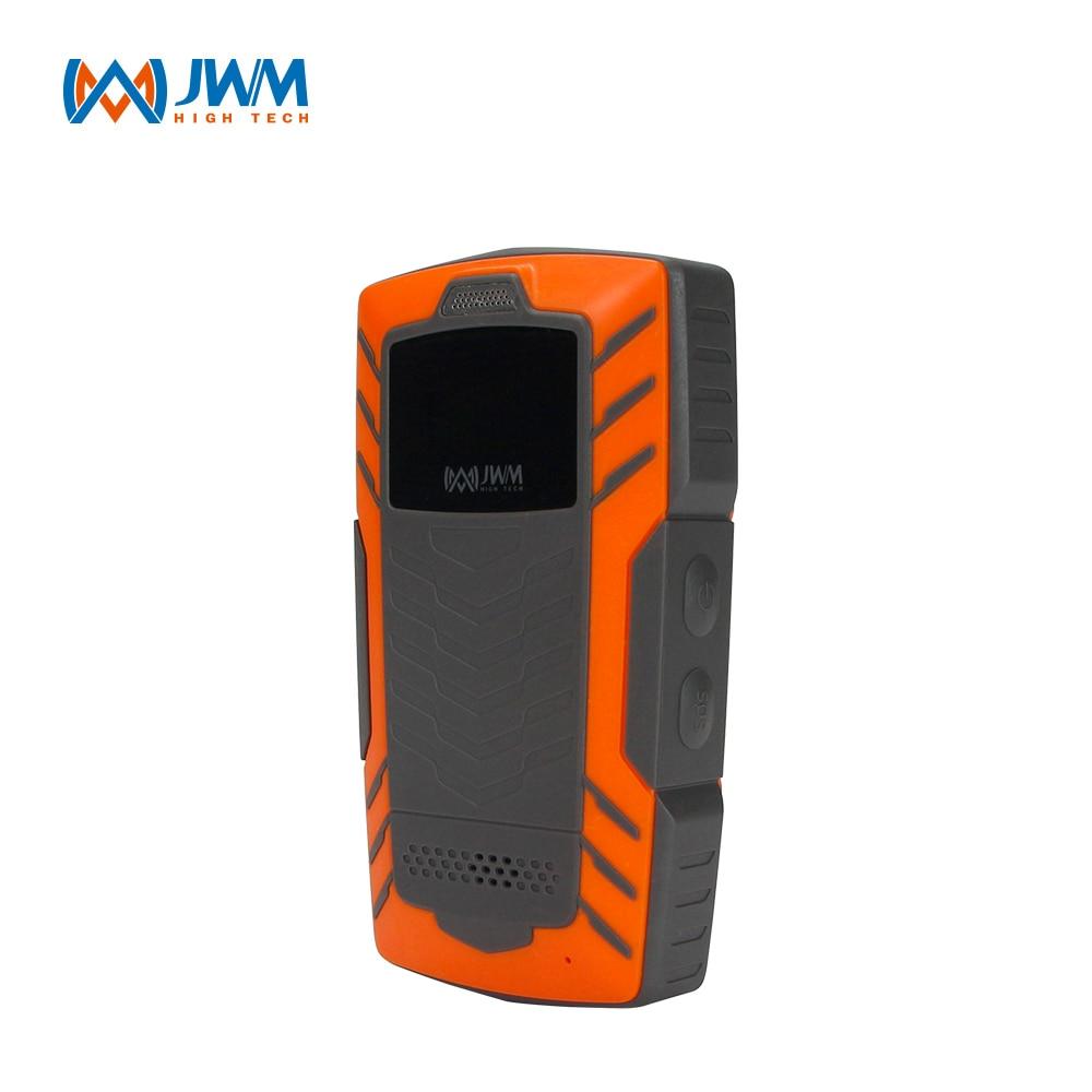 jwm gps gprs rfid guard tour patrol system with free software WM-5000L4 4G GPRS Real Time Web Software Security Guard Patrol Tour System with OLED Screen