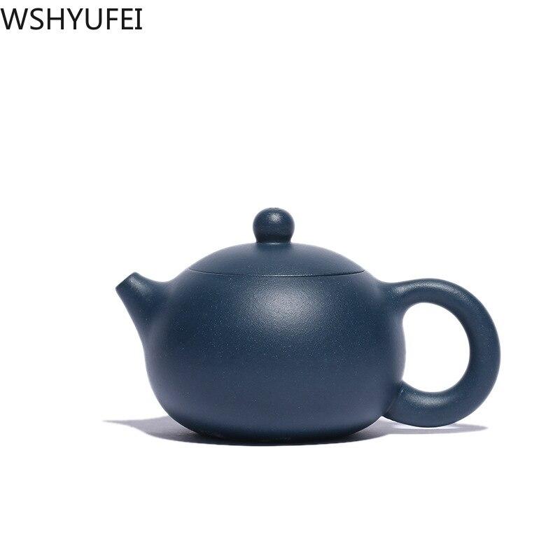 Yixing pote de chá argila roxa xi shi bule belezas artesanal minério chaleira oolong chá chinês personalizado chá conjunto 188 bola buraco 110ml
