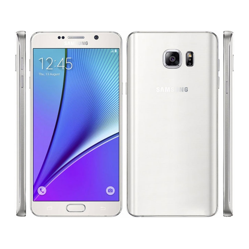 Samsung Galaxy Note 5 N9200 5.7 Inches Unlocked Cell phone 2K Screen 4GB RAM 32GB ROM Camera 16mp Mobile Phone With Stylus