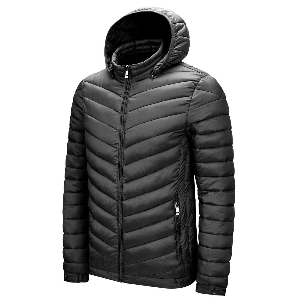 Wholesale Custom Padded Quilted Waterproof Jacket Cheaper Warm Mens Lightweight Jacket