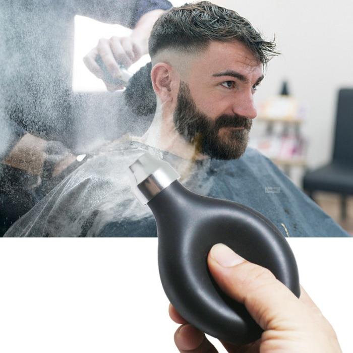 1 unidadespray en polvo de salón de peluquería corte de pelo talco en polvo accesorios de herramientas de estilismo