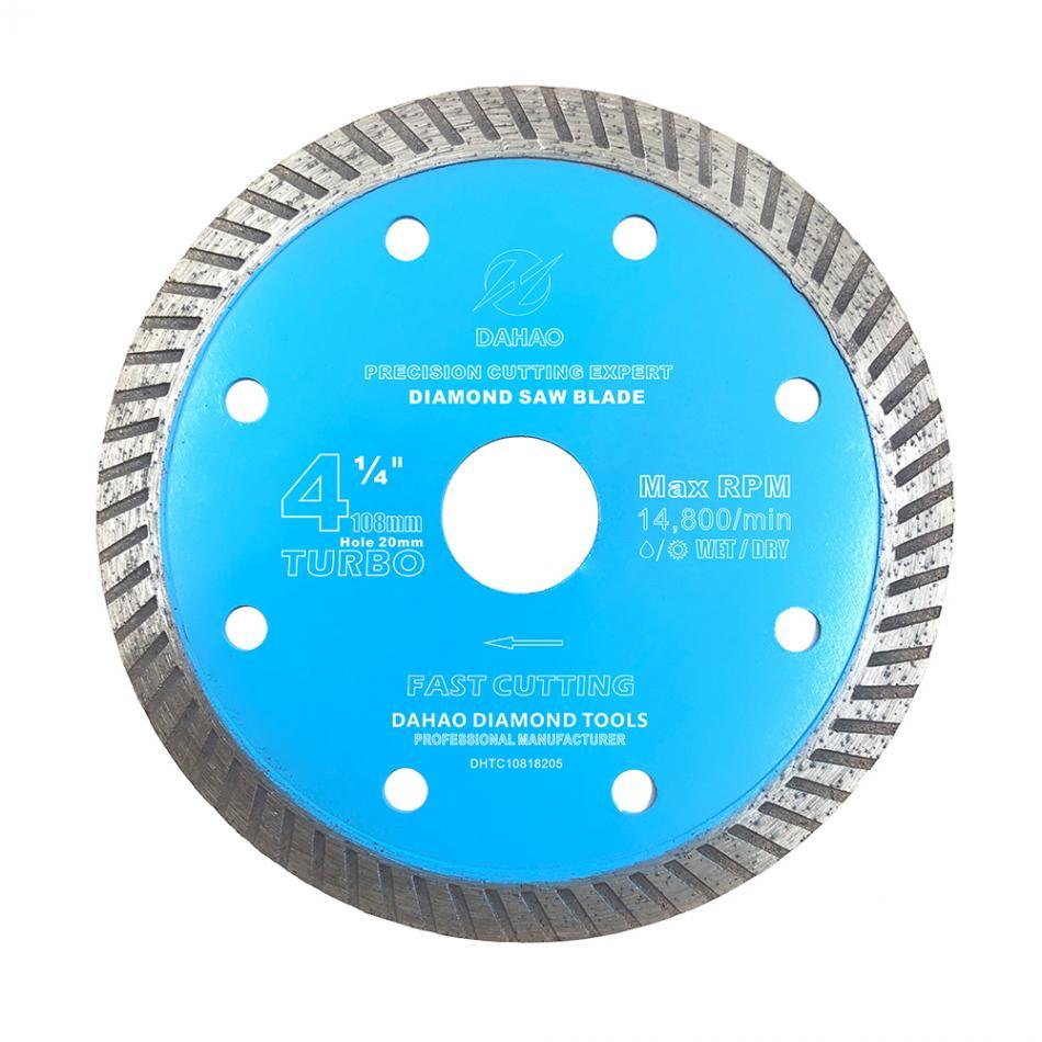 Алмазные дисковые пилы 108 мм/250 мм, дисковые пилы для резки гранита, камня, фарфора, керамической плитки, тонкие пильные диски