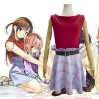 mizuhara chizuru cosplay rent a girlfriend uniform carnival party dress up for women