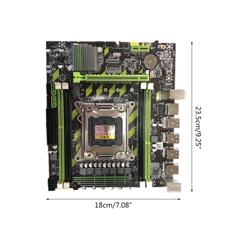 H7JA X79G M.2 Motherboard LGA 2011 DDR3 Mainboard for In-tel Xeon E5 Core I7 CPU enlarge