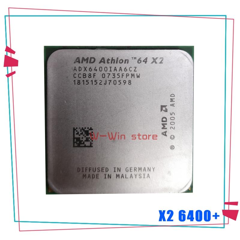 AMD Athlon 64 X2 6400 X2 6400 + 3,2 GHz Dual-Core CPU procesador ADX6400IAA6CZ hembra AM2