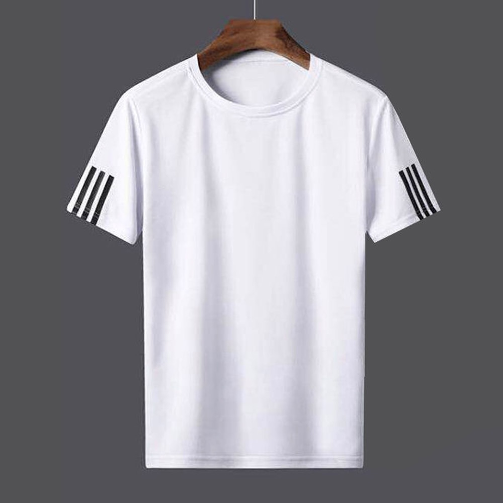 AliExpress - Summer Men's Running T-Shirts Fitness Sports Top Decathlon Sportswear Basketball Soccer Clothing Jogging Gym Quick-Dry Shirt