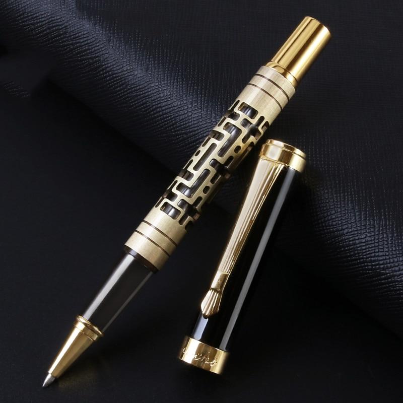 Высокое качество метала роскошный элегантный стиль 0,5 мм шариковая ручка Бизнес письменная подписи шариковые ручки офисные школьные прина...