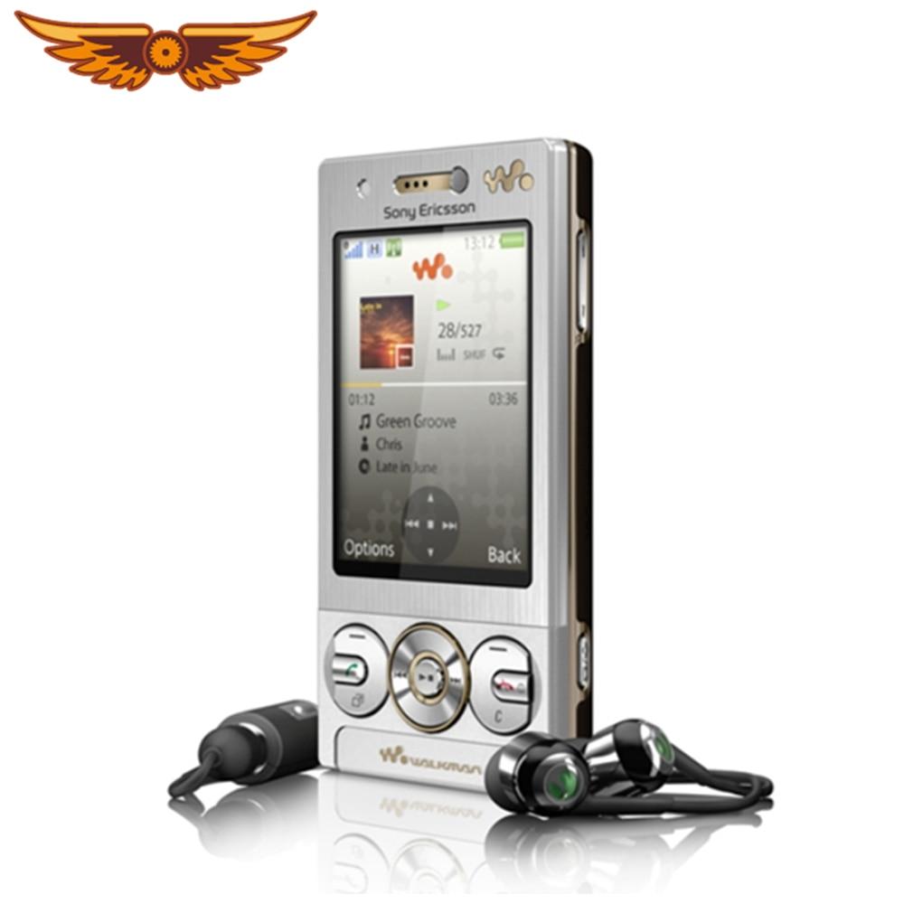 W705 Original desbloqueado Sony Ericsson W705 FM Radio Bluetooth renovado GSM Slider teléfono móvil