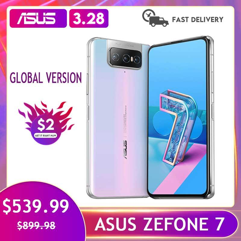 ASUS Zenfone 7 Snapdragon 865 NFC Android OTA 5000mAh QC 4.0 8GB RAM 128GB ROM  6.67