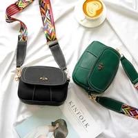 fashion female bag 2021 new leather women designer luxury small crossbody shoulder bags wide strap messenger bag bolsa feminina