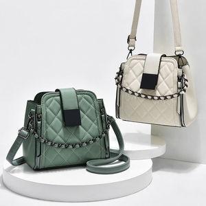 Women's Handbag PU Leather Quality Messenger Crossbody Bag Casual Fashion Classic Women's Bag Shoulder Bag 5251154
