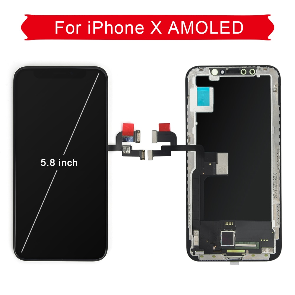 AAA+++ Quality  OLED For iPhone X XS XS Max  LCD Screen Replacement For iPhone 11 Pro  Display With 3D Touch Assembly True Tone enlarge