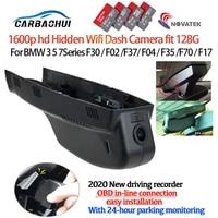 car video recorder dash cam camera for bmw 3 5 7series f30 f02 f37 f04 f35 f70 f17 20102013 obd connection easy installation hd