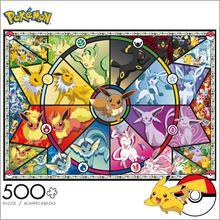 100 300 500 1000 2000 pièces Pokemon Pikachu plastique papier Puzzle Action Figure décoration modèle enfants jouet cadeau