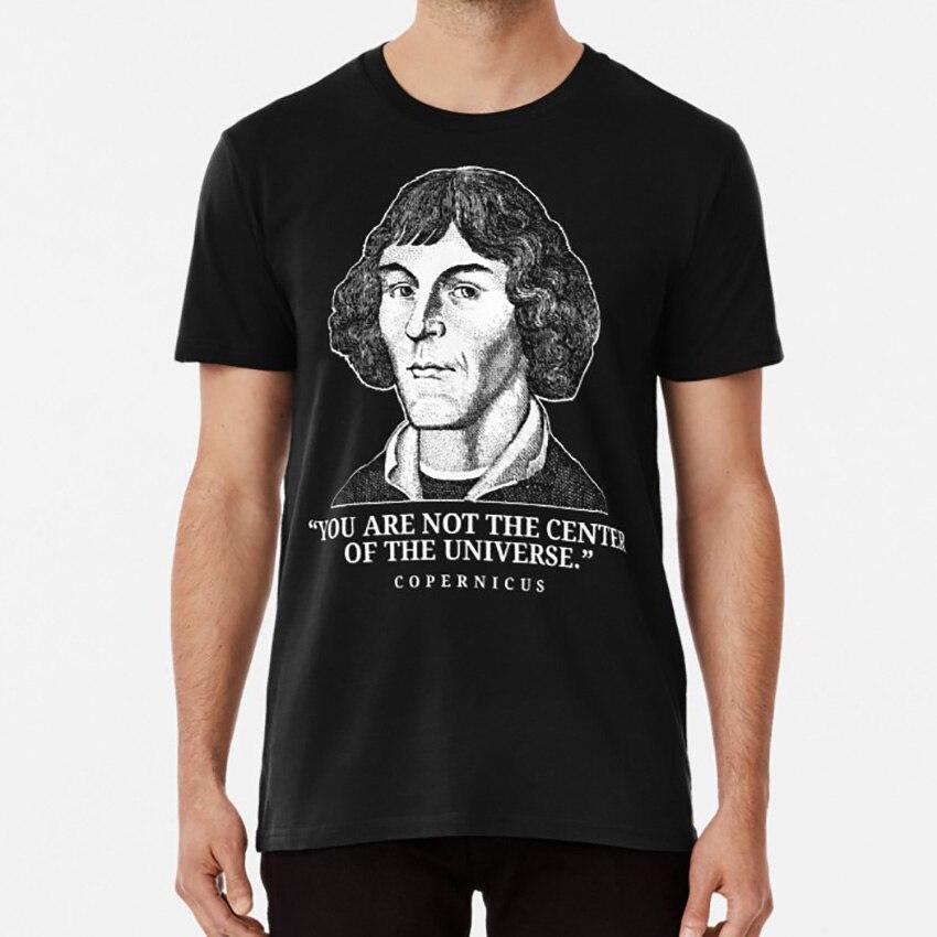 Camiseta con Astronomía del matemático de c-pernicus, camiseta con astronauta matemático renacentista, matemático renacentista